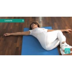 Lezione 9: Distensione della fascia lombare, potenziamento addominali. Sbloccaggio delle articolazioni vertebrali lombari